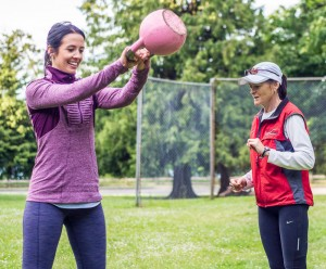 Personal Training - Kettle Bell Instruction