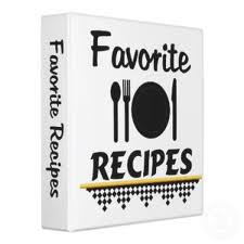 Favourite Recipes Book