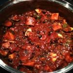 Black Bean Curried Chili