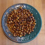 Sweet Roasted Chick Peas